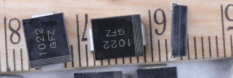 长安批发TVS二级管保护元器件